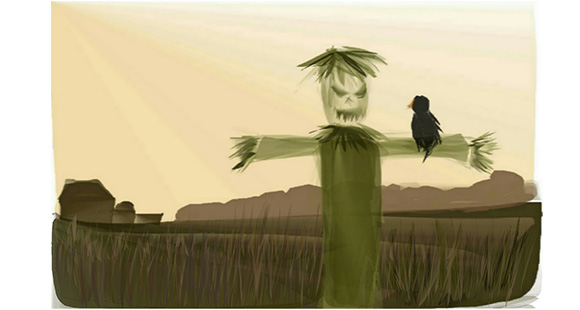 Scarecrow Failure drawn with Sketch Mate Advanced